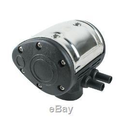 Farm Cow Milker+Stainless Steel Bucket Tank Barrel+ L80 Pneumatic Pulsator USPS