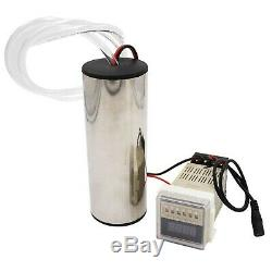 M. Z. A 3L Electric Cow Milking Machine Cattle/Sheep Pump Milk Bucket Tank Cont