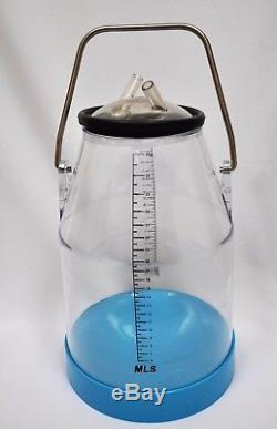 Milk Bucket Pail 25L Plastic+Lid+Liner+SS Handle Enforced Bottom Cow Goat Milker