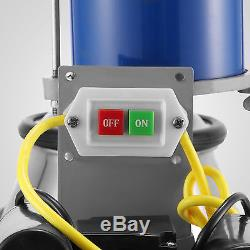 Milking Machine For Farm Cows WithBucket 25L 2 Plug Milker 1440RPM AU stock