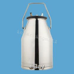 Milking Machine Milker For farm Cows + Bucket Piston Vacuum Pump Canada Stock