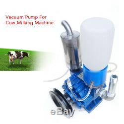 Milking Machine Vacuum Pump, Cow Goat Milking Machine Milker Bucket Tank Barrel