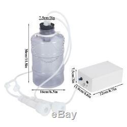 Mini Electric Barrel Milking Machine Vacuum Pump for Cow Milker Tank 5L Home