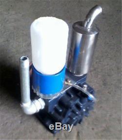 NEW Vacuum Pump For Cow Milking Machine Milker Bucket Tank Barrel 250L/min