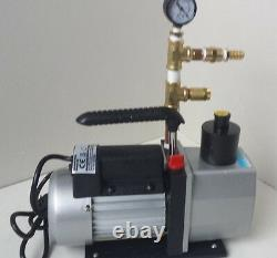 Portable COMPLETE MILKING MACHINE-COW-GOAT-SHEEP-NEW 1/3 HP VACUUM PUMP
