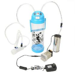 Portable Electric Milking Machine Sheep Cow Goat Suction Capacity Milker Machine