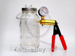 SAFE Hand Held Sheep, Cow & Goat Milker 1/2 Gallon Jar