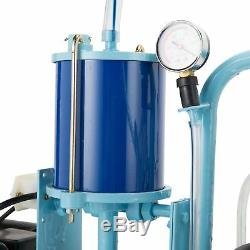 Stainless Steel Electric Milking Machine Milker Machine for Cows and Goats 25L t
