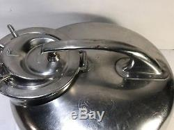 Surge Stainless Steel Milker Machine Dairy Cow Sheep Milk Can Bucket Pail Goat L