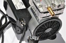Twin Piston Oil-less Vacuum Pump 5.5CFM CowithGoat Milker/Pulsator Hookup + Switch