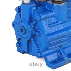 US 110V Electric Horizontal Cast Iron Vacuum Pump For Cow Milking Machine New