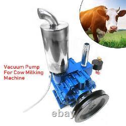 US Vacuum Pump For Cow Milking Machine Milker Bucket Tank Barrel 220 L/min