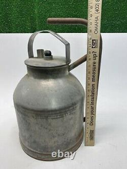 USA DELAVAL CONDE COW DAIRY MILKER MILKING MACHINE Pot Can Jug Cream