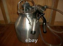 USA Delaval Dairy Cow Milker Milking Machine W New Rubber New Pulsator