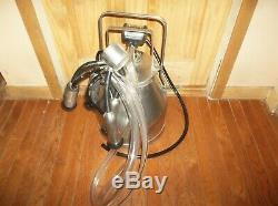 USA Surge Delaval Dairy Cow Milker Milking Machine W New Rubber New Pulsator