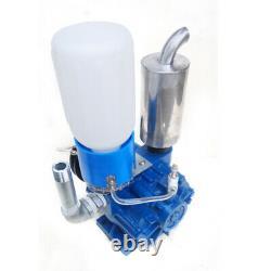 Vacuum Pump For Cow Milking Machine Milker Bucket Tank Barrel 250L/min Device US