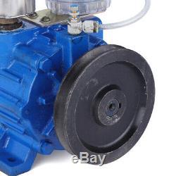Vacuum Pump For Cow Milking Machine Milker Bucket Tank Barrel 250L/min US Stock