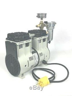 Welch OIL-LESS Vacuum Pump 28HG 10CFM Goat Cow Sheep Dairy Milking Machine