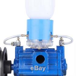 110 V Machine Traire Pompe À Vide Pour Vache Milker Seau Réservoir Barrel Us Rapide Des Navires