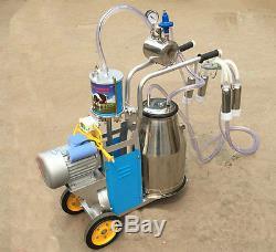 110v 220v Nouvelle Machine Électrique De Traite Pour Les Vaches Ou Les Moutons