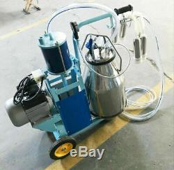 110v Trayeuse Électrique Traire En Acier Inoxydable Piston Machine Pour Les Vaches Et Les Chèvres