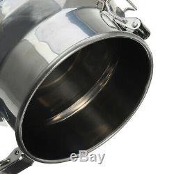 14l Gal Dual Head Farm Machine Vache Chèvre Traire Portable Barils Vide