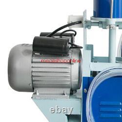 2020 Trayeuse Électrique À Piston Pompe À Vide Pour Les Vaches Traire Machine Ferme Bucket Fda