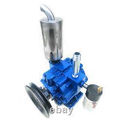 220l/min Machine À Traire Électrique Vacuum Impulse Pump Milker Vache En Acier Inoxydable