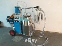 220v Électrique Lait Machine Fit Traire Pour Les Vaches À Piston Trayeuse