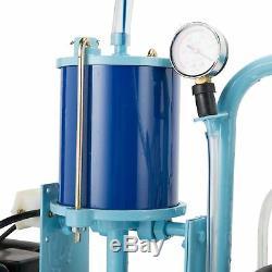25l Électrique Machine Pour Les Chèvres Traire Les Vaches Withbucket 2 Branchez 12cows / Heure Tube Digestif