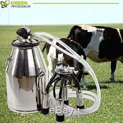 304 En Acier Inoxydable À Lait De Vache Milk Bucket De Qualité Supérieure Équipement De Traite Des Vache