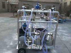 4mul8 Machines Autonettoyant Quad-tank 4 Cowithgoat Traire Machine 6.6 Gallon