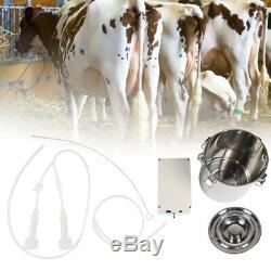 5l Électrique Traire Machine Idéal Pour La Vache De Chèvre Équipement Avec Seau Pompe À Vide