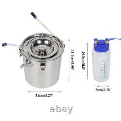 5l Goat Sheep Cow Milking Kit Portable Electric Impulse Milking Machinefor C