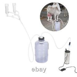 5l Kit De Traite Électrique De Vache De Chèvre Machine De Traite À Vide Portablef