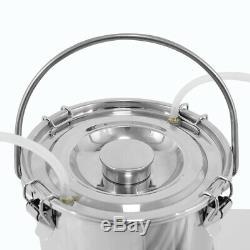 5l Portable Électrique Machine Traire De Qualité Alimentaire Matériel Pour Les Bovins De La Ferme Vache