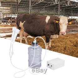 5l Portable Électrique Pompe À Vide Machine À Traire Pour La Ferme Vache Mouton Chèvre Mini