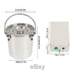 5l Portable Vide Machine Électrique Pompe À Traire Pour La Ferme Vache Mouton Chèvre