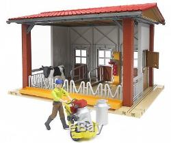 62621 Étable À Vaches Avec Machine À Traire / Cowithfigure