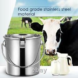 7l Machine De Traite Vaches Goat Automatique Aspirateur À Aspiration Électrique Laiteur