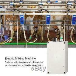 7l Vache Trayeur Trayeuse Électrique Home Sheep Pulse Pompe À Vide Bucket