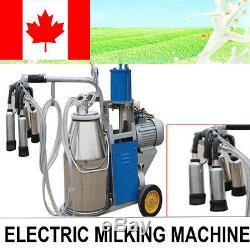 Acier Inoxydable De Milker De Pompe À Piston Électrique De Machine À Traire Pour La Vache À La Ferme