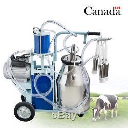 Acier Inoxydable De Vache De Ferme De Pompe À Piston De Machine À Traire Électrique De Ca