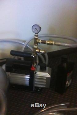 American Made Milking Machine Surge-cow-goat-mouton-nouveau 1/3 HP Pompe A Vide