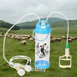 Chèvre Mouton Vache Portable Trayeuse Électrique Trayeur Avec Double Tête