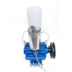 Cow Milking Machine Vacuum Pump Sheep Cow Milker Bucket Tank Barrel 250l/min États-unis