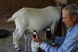 Dansha Farms The Frontier Goat Sheep Machine À Lait Rechargeable Pac 1 Gall