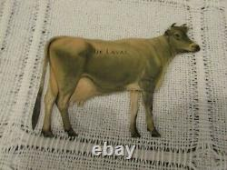 De Laval Crème Séparateur Milker Tin Jersey Cow & Calf Perfect