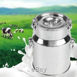 Électrique Barrel Machine Pulse Traire Pompe À Vide Pour La Vache De Chèvre Milker Réservoir 5l