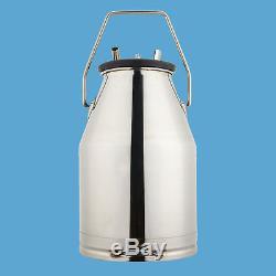 En Acier Inoxydable 304 Dairy Farm Vache Milker Top Qualité Seau De Lait Vache Traite